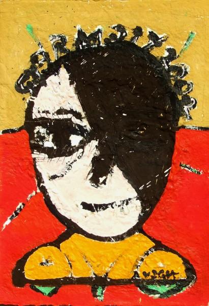 Fej (Gyermely)2002, 70x50