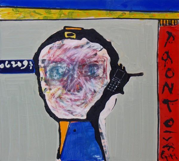 Pronto, 2015, olaj, vászon, 50x55