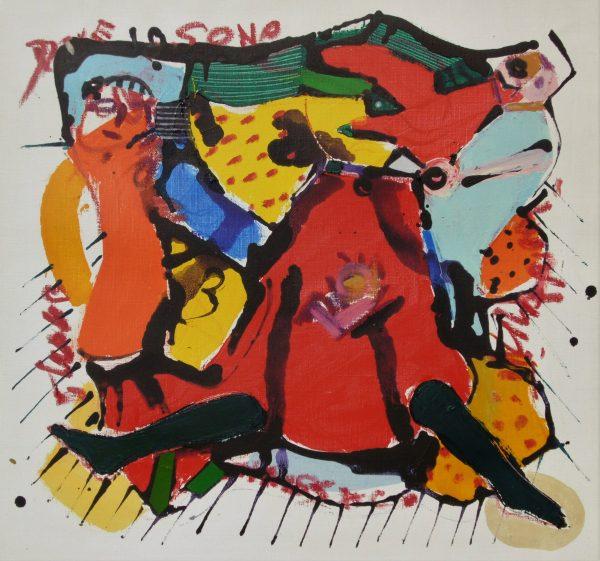 Kánkán, 2016, akril, vászon,