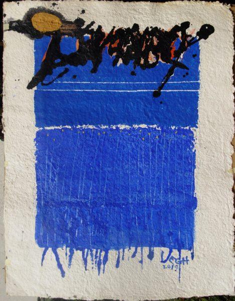 Twombly kék
